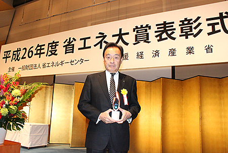 Mr. Akio Suehiro, MFTBC Senior Vice President of Mitsubishi Fuso Sales Japan
