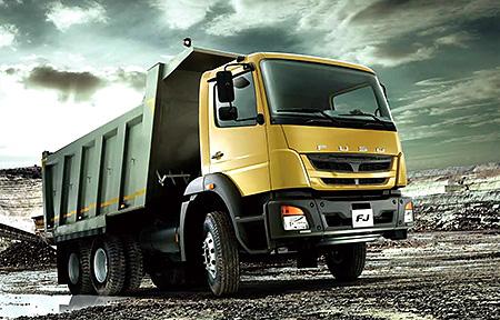 FJ medium-heavy-duty left-hand truck