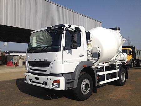 FUSO FJ 1523C RMC heavy-duty concrete mixer truck