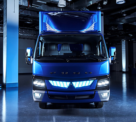 The new all-electric FUSO eCanter