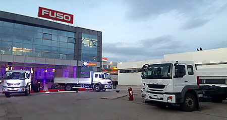 The All-new FUSO Model Launched in Algeria